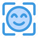 face, detection, facial, recognition, face id, smile, emoji
