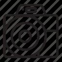 camera, digital, front, photo, photography icon