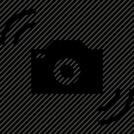 camera, shake, unstable, vibrate icon