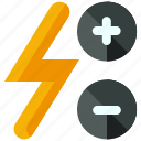 adjust, flash icon