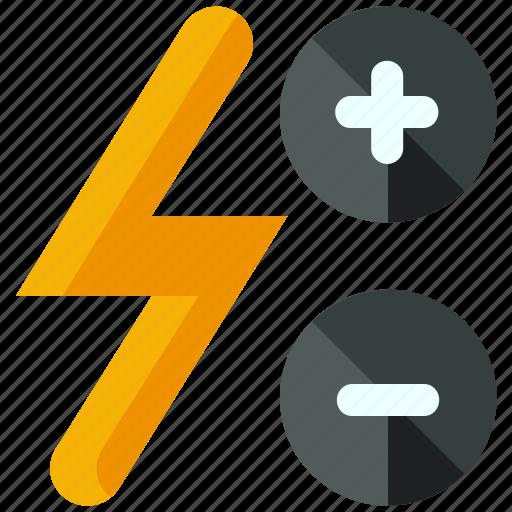 adjust, flash icon