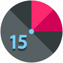 fifteen, timer icon