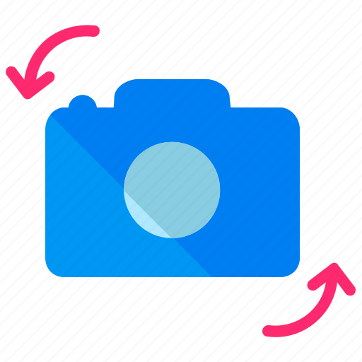 camer, reverse, rotate icon