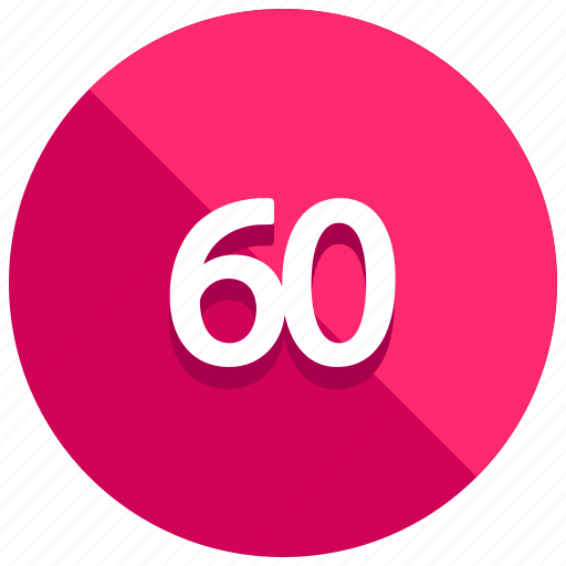 sixty, timer icon