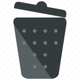 delete, trash icon