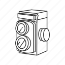 camera, film, medium format, photograph, photography, picture icon