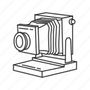 camera, film, large format, photograph, photography, picture icon