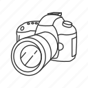 camera, canon, digital, dslr, photography, picture icon