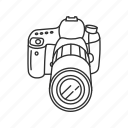 camera, canon, digital, dslr, photography, picture