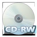 disc, cdrw icon