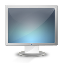 display, monitor, screen icon