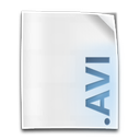 avi, clip, file, movie icon