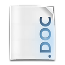 doc, file icon