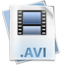 avi, clip, file, film, movie icon