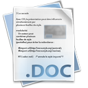 doc, document, file icon