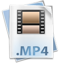clip, file, movie, mp4, mpeg4 icon