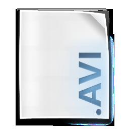 avi, clip, file, movie icon