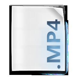 file, mp4, mpeg4 icon