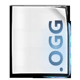 file, ogg, vorbis icon