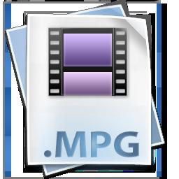 file, mpeg, mpg icon