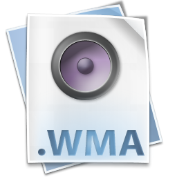 audio, file, media, windows, wma icon