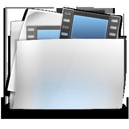 films, folder, videos icon