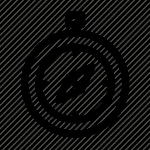 compass, cursor, gps, interface, navigation, technology, tool icon