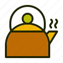 adventure, camp, nature, teapot icon