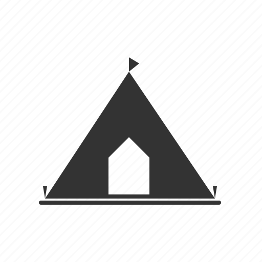 camp, forest camp, forest tent, marquee, tent icon