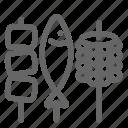 bar b q, barbecue, bbq, camping icon