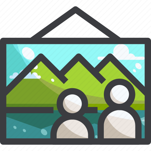 camping, equipment, nature, photo, travel icon
