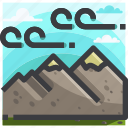 camping, equipment, nature, travel icon