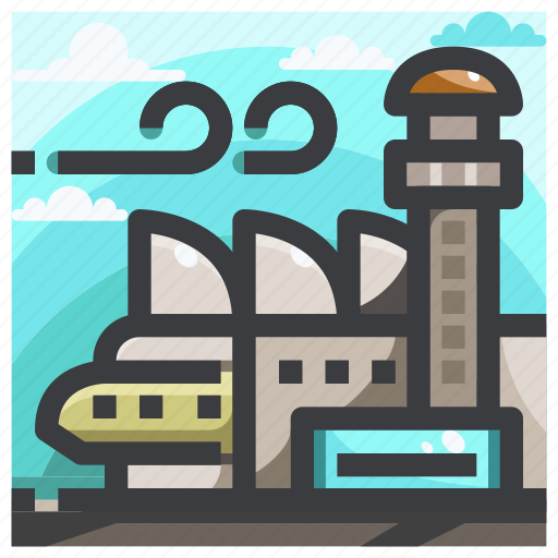 Airplane, airport, travel icon - Download on Iconfinder