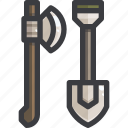 camping, equipment, tool icon