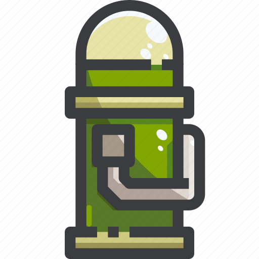 Camping, equipment, flask, water icon - Download on Iconfinder