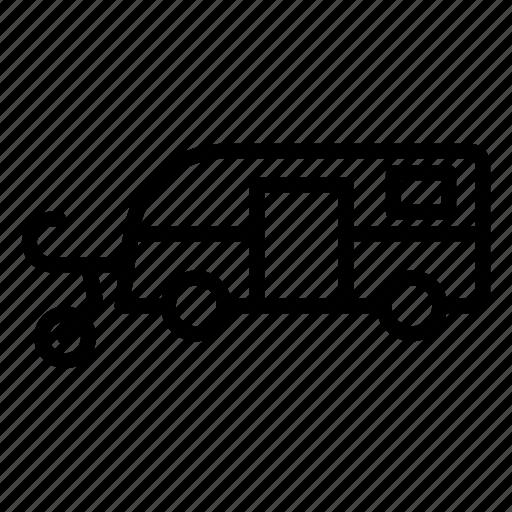 caravanning, delivery, transport, transportation, travel, vehicle, vihicle icon