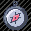 compass, direction, location, map, navigation