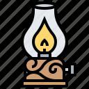 flame, kerosene, lamp, lantern, light