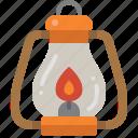 light, fire, lantern, oil, flame, camping, lamp