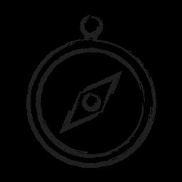 compas, tool, transportation icon