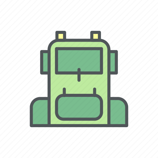 bag, camp, camping, carrier, filled icon