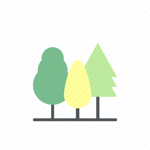 camp, camping, forest, survival, tree icon