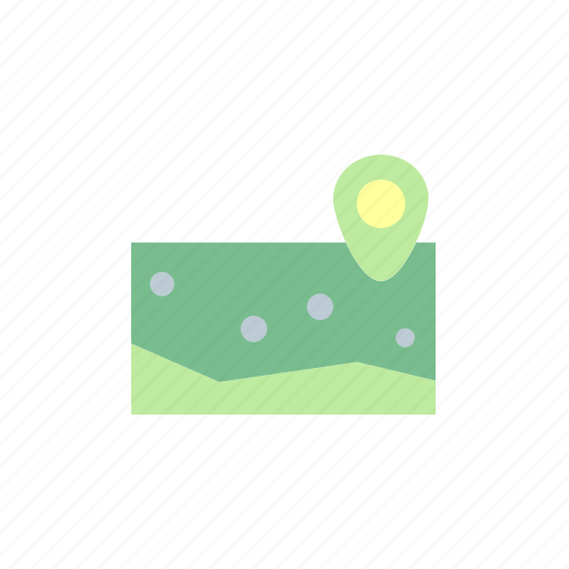 camp, camping, map, navigation, place icon