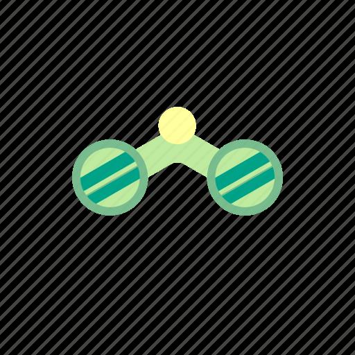 binocular, camp, camping, search icon