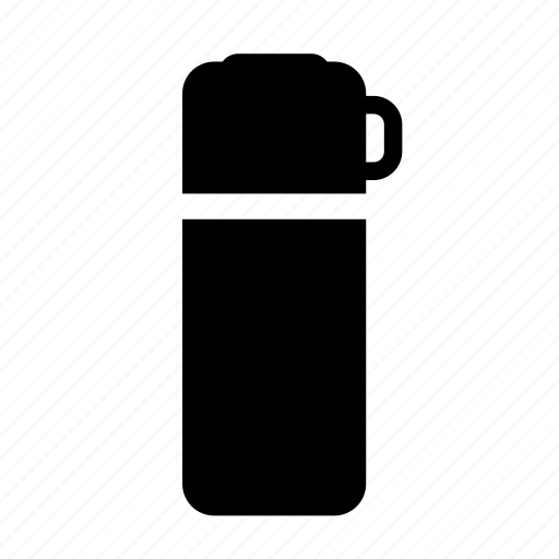 bottle, camping, drink, flask, hot, thermos, vacuum icon