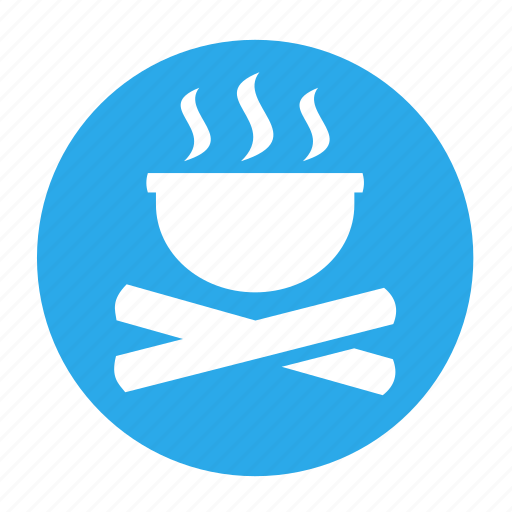 boil, campfire, camping, cook, cooking, fire icon