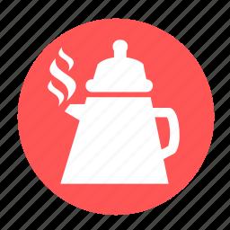 camping, drink, hot, pot, tea, teapot icon
