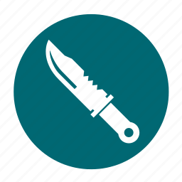 army, camping, knife, shank, shiv, survival icon