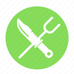 army, camping, cross, knife, shank, shiv, survival icon