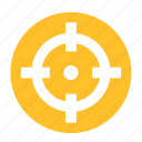 camping, focus, hunter, shoot, shooter, shooting, target icon